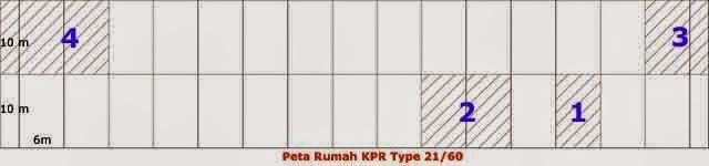 Luas Lahan Rumah Kpr Type 21 Redesain21 Com Rumah Properti