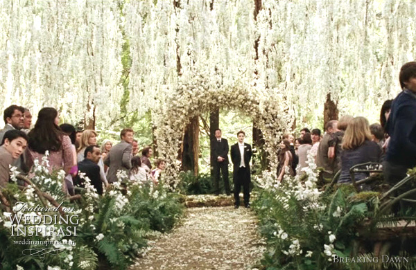wedding of the year twilight saga breaking dawn part 1
