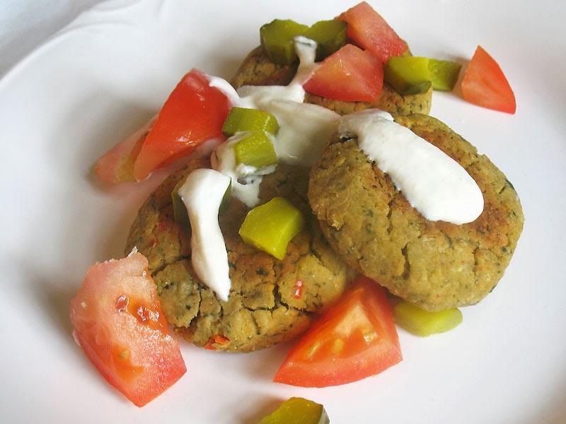 Baked Falafel with Lemon Tahini Sauce | Lisa's Kitchen | Vegetarian ...