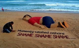 Syrian boy dead ashore
