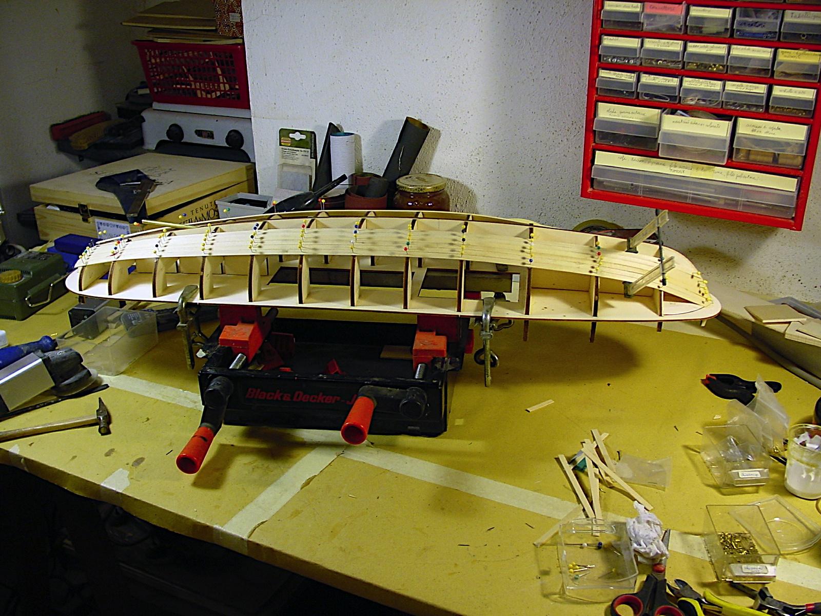 Modellismo navale rc model boats la mia nuova creatura for Piani di costruzione del negozio con alloggi