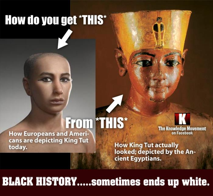 egyptians were blacks