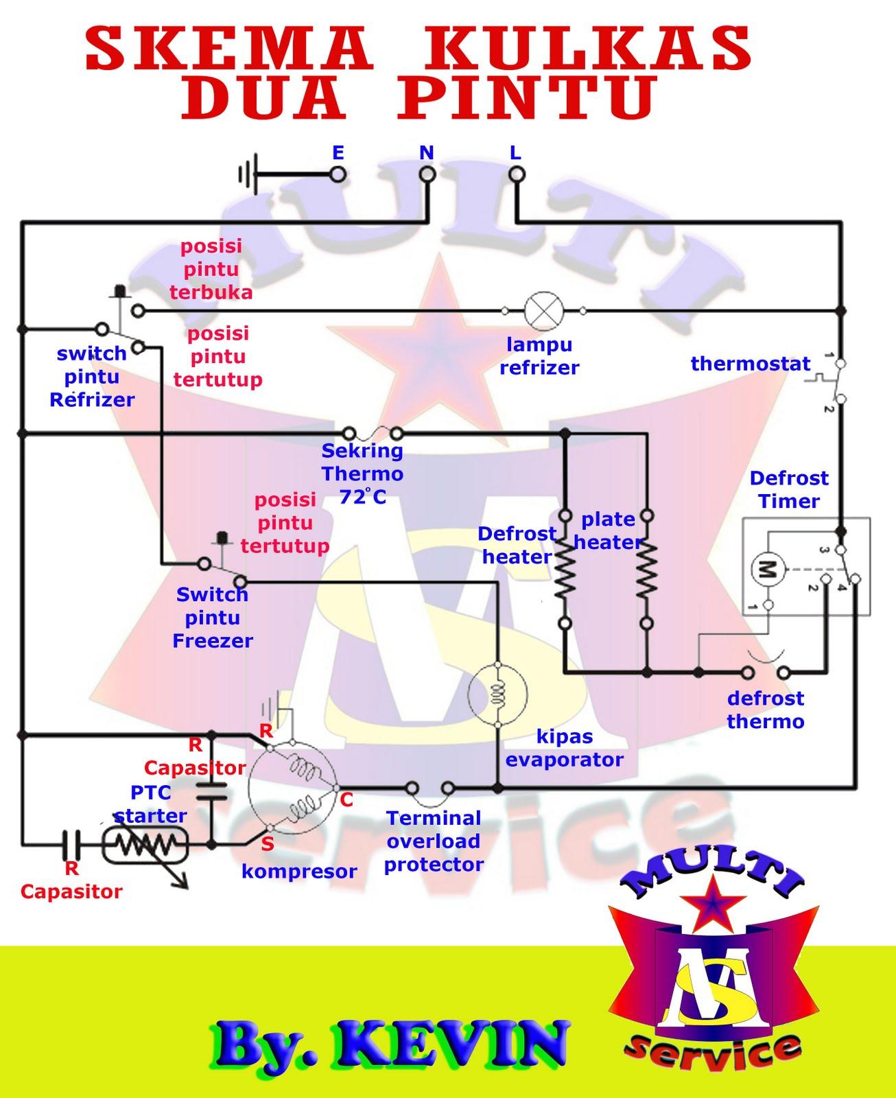 Wiring Diagram Kulkas 2 Pintu Lg : Kevinmulti diagram kulkas dua pintu