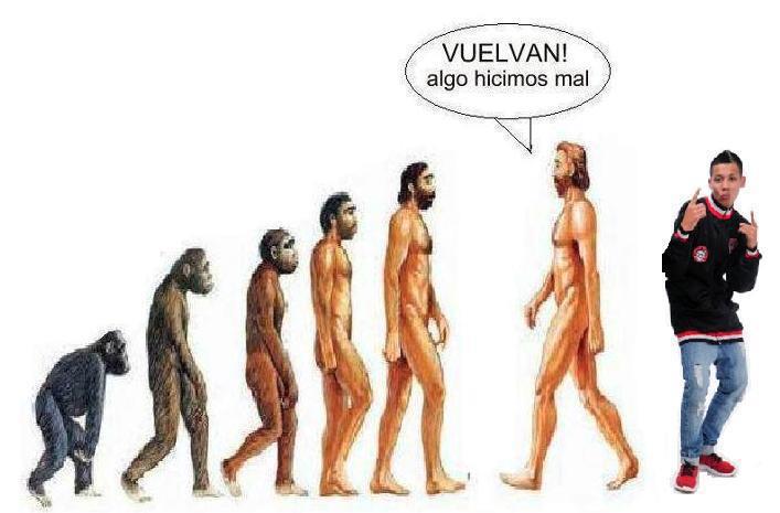 Teoria de Darwin Evolucion Del Hombre Teoria de Evolucion Del Hombre