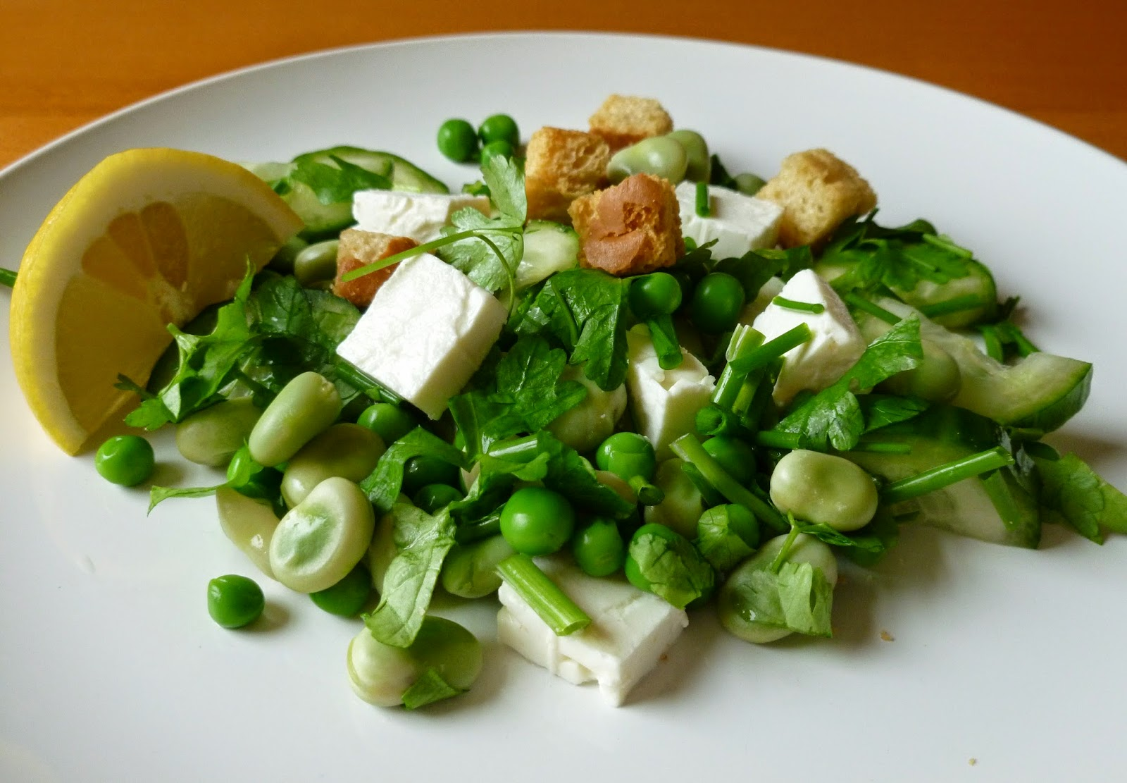 Mean Green Salad