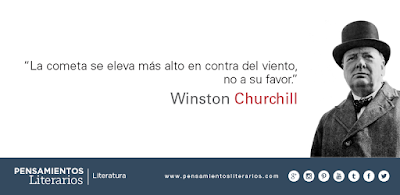 Frases de Winston Churchill. Adversidad.