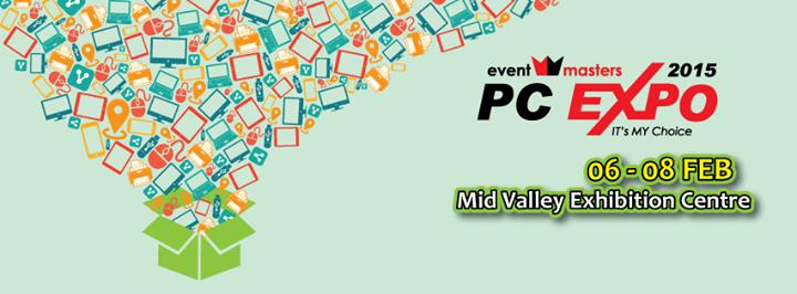 JUALAN MURAH PC EXPO 6 8 FEBRUARI 2015 MID VALLEY KUALA LUMPUR