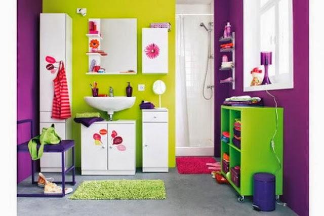 2948 6 or 1395570022 ديكورات حمامات ملونة بالصور