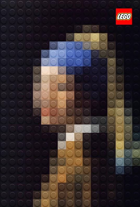 Italian artist Marco Sodano reinterprets famous artwork with Legos