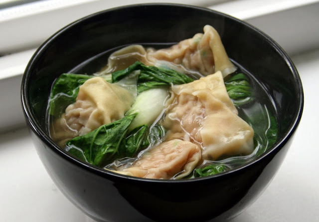 Wonton and Bok Choy Soup Quickfire Recipe
