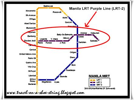 The Light Rail Transit Line 2 (LRT 2) | Directions, Routes, Maps ...