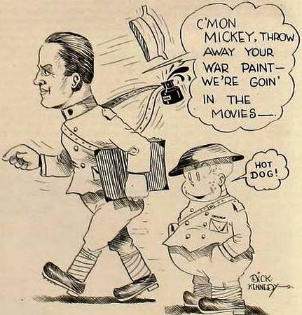 17 April 1920 Cartoon by American cartoonist Dick Kennedy,