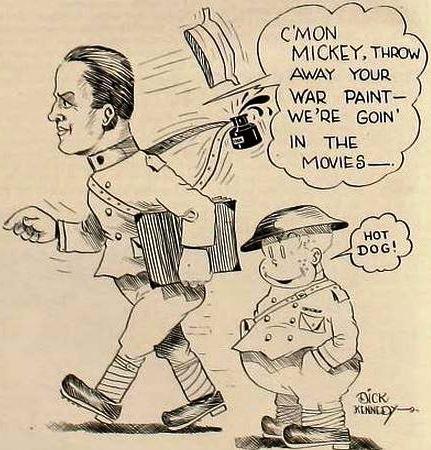 17 April 1920 Cartoon by American cartoonist Dick Kennedy,