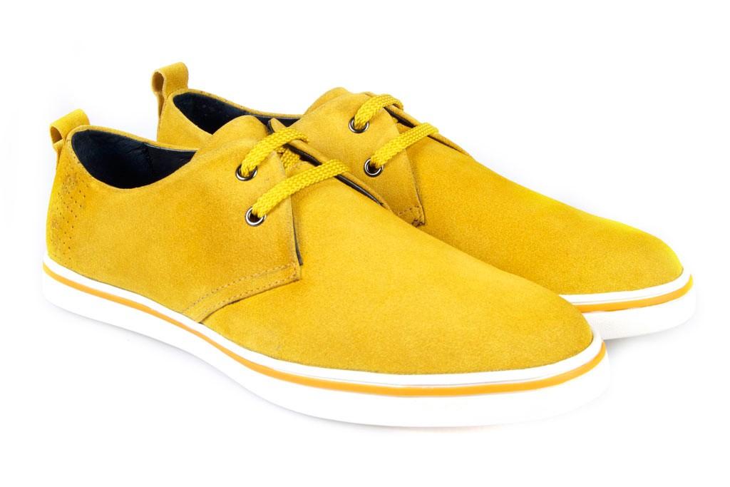 Zapatos amarillos para hombre qcj85