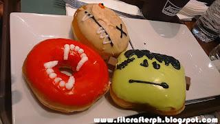 Krispe Kreme Halloween Donuts