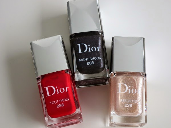 Dior Timeless Colour Icons Pre-Fall 2014 Collection limited edition nail colours