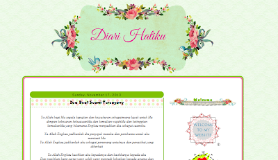 Edit Blog Diari Hatiku