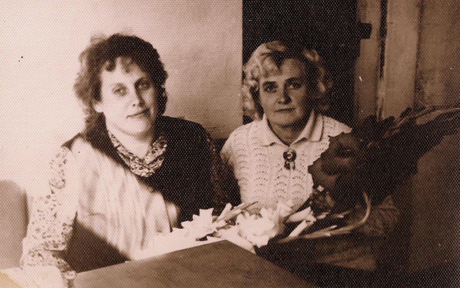 Dzintra un Valda Grūbe 1978. gadā