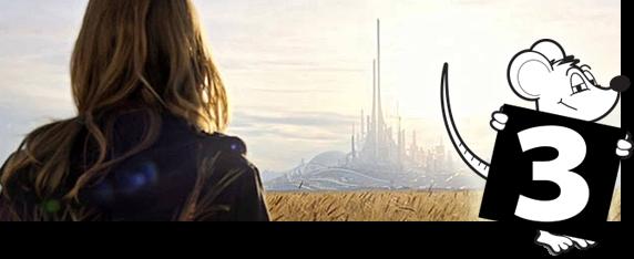 Tomorrowland - Um lugar onde nada é impossível  - Nota 03 de 05