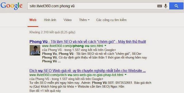 Google Phong Vũ, Phong Vũ