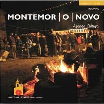 Clique na imagem para folhear a Agenda Cultural da Câmara Municipal de Montemor-o-Novo