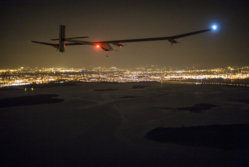 A long slow flight across America, the Solar Impulse completed the cross country journey.