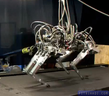 robot cheetah berlari lebih laju usain bolt