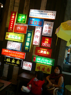 Wall of Signboards