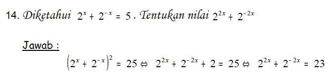 4 Soal Matematika Soal Persamaan Eksponen Lengkap Dengan Pembahasan