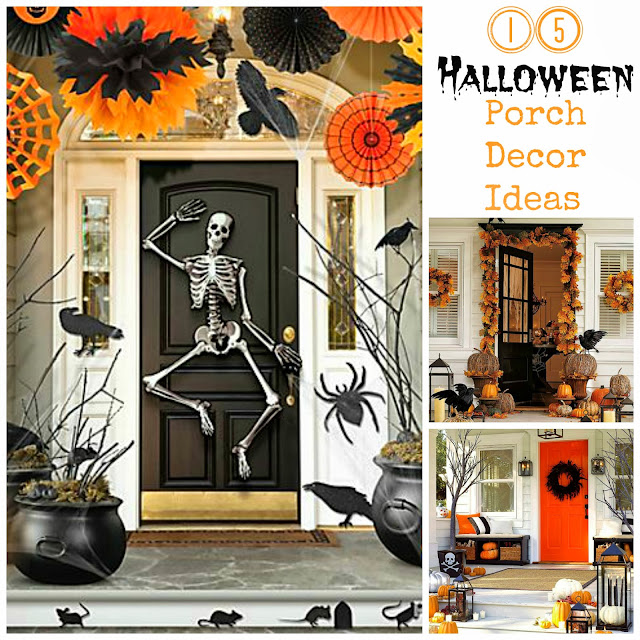 I Dig Pinterest 15 Halloween Porch Decor Ideas