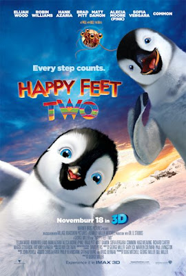 Happy Feet Two Theatre Poster