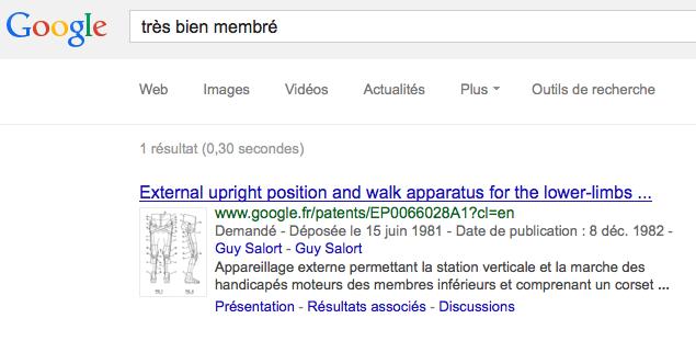 Google enlarge ton ranking parcqu'il est très bien membré