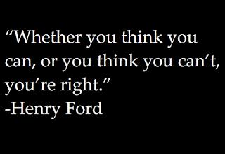 Of je denkt dat het kunt of dat het niet kunt, Je hebt Gelijk - Quote - Henry Ford