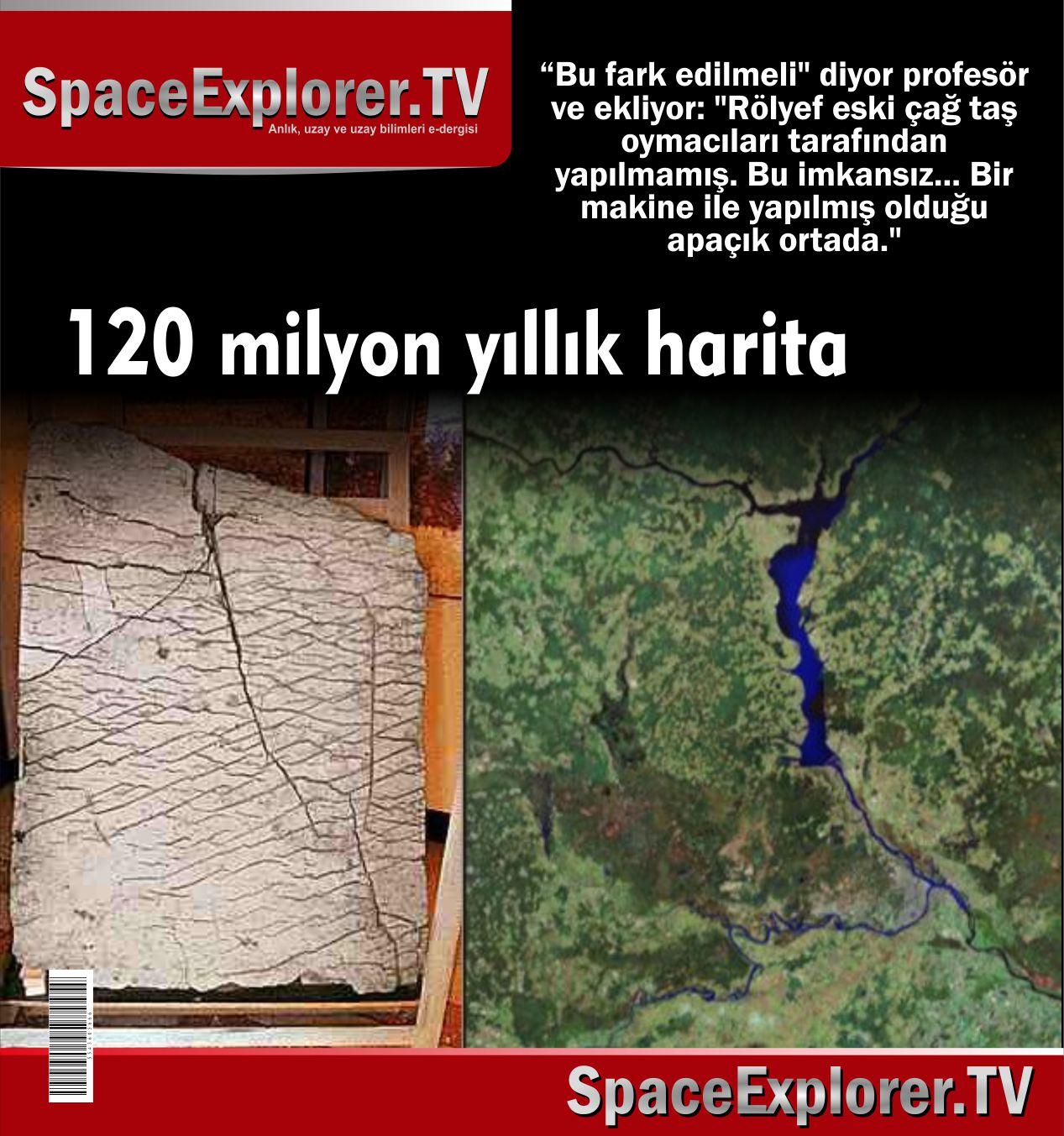 120 milyon yıllık harita
