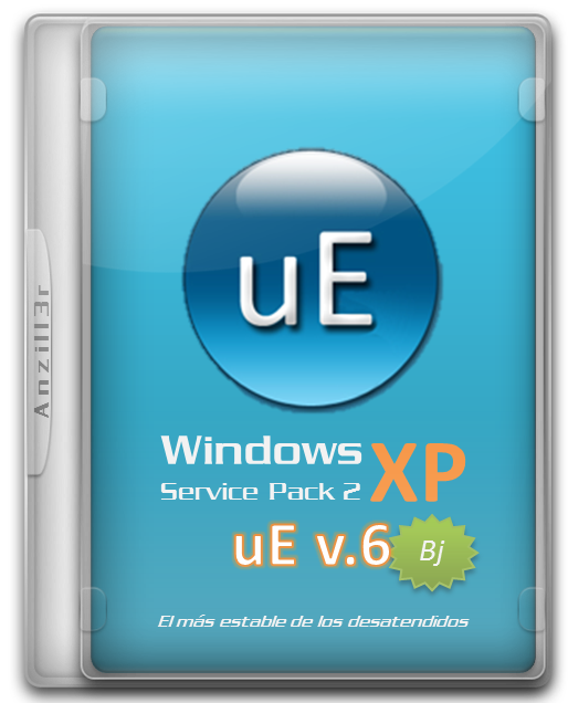 Windows XP SP2 uE v6 cover pc