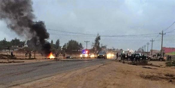 Más de 200 campesinos arrestados en Baja California por exigir mejores salarios