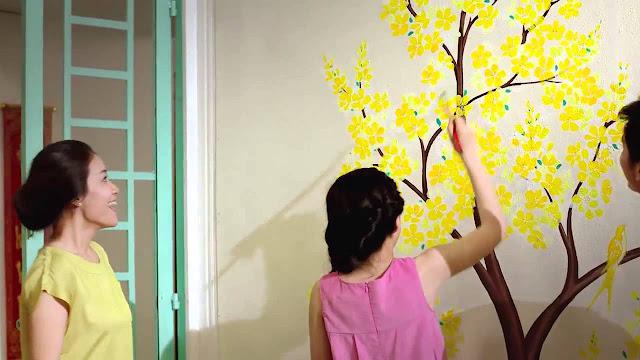 Hướng dẫn bạn tự sơn nhà đón tết