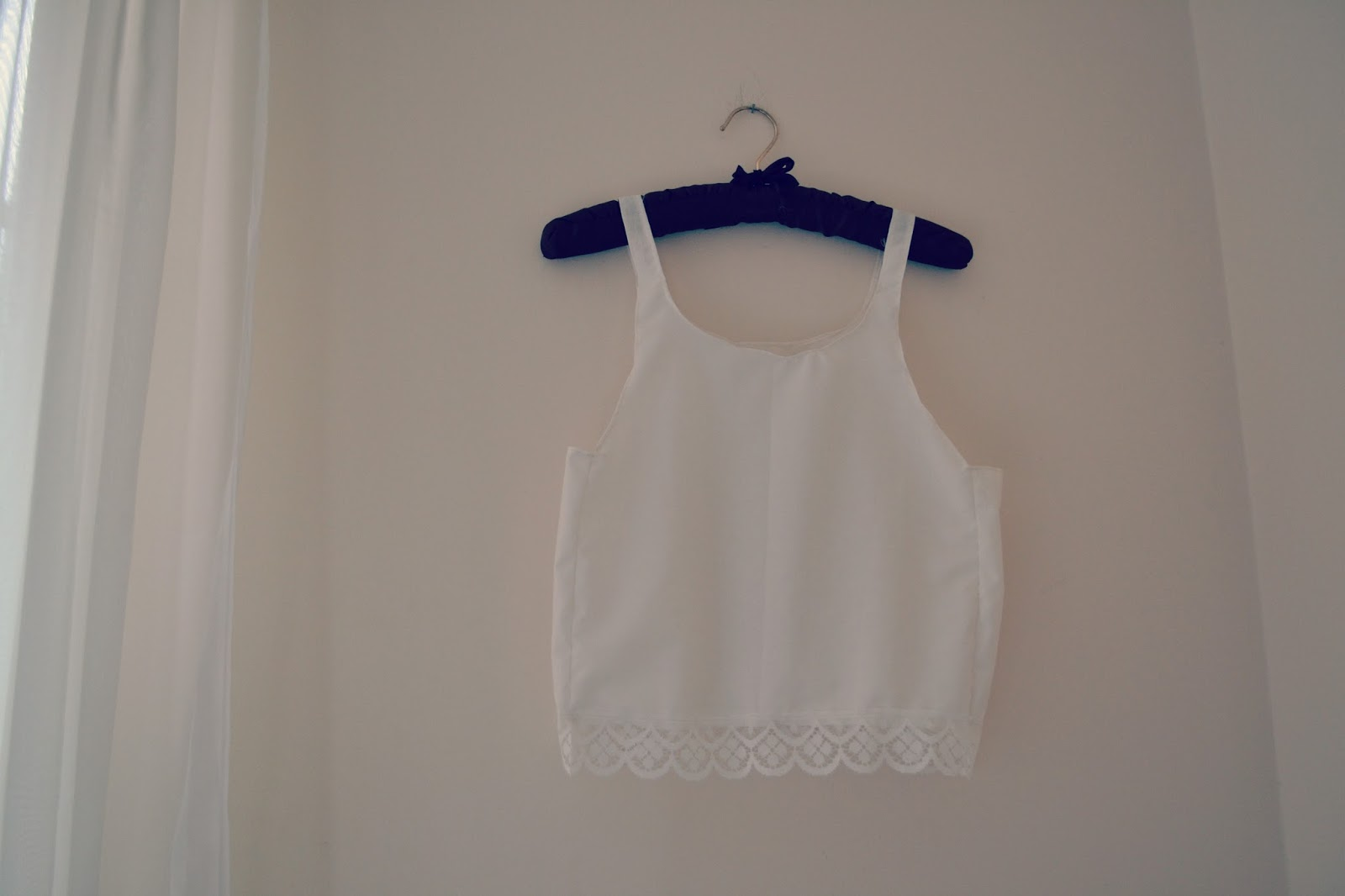 diy crop vest top