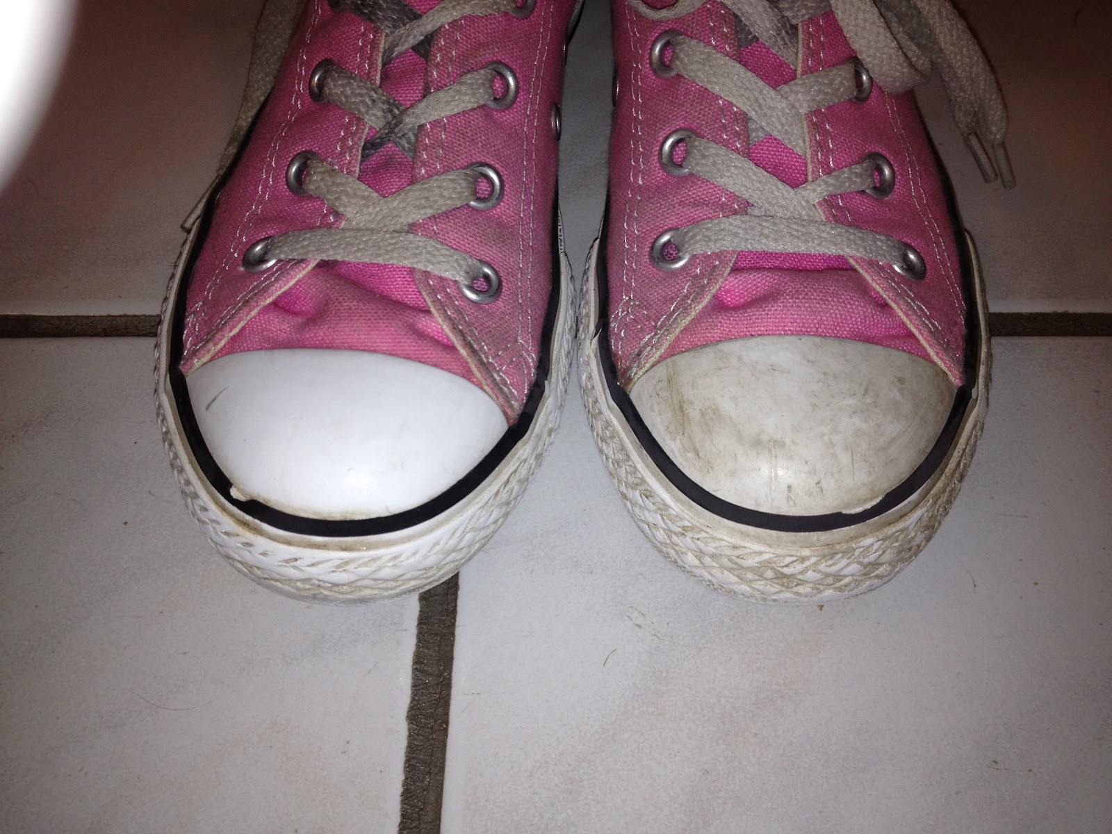 how to clean your dirty white shoes