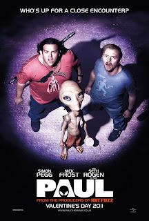 Britisk poster for Paul (2011)