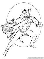 Gambar Joker Penjahat Humoris Ingin Menembak Batman