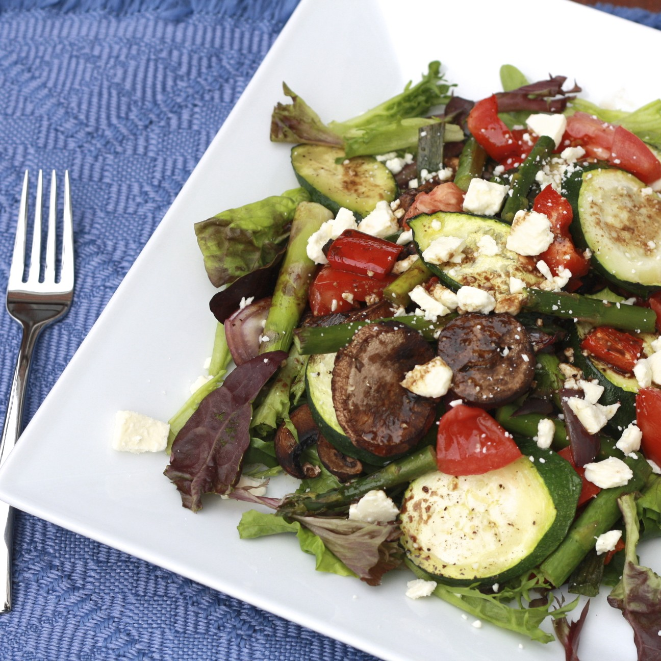 The Sweets Life: Grilled Vegetable Salad with Balsamic ...
