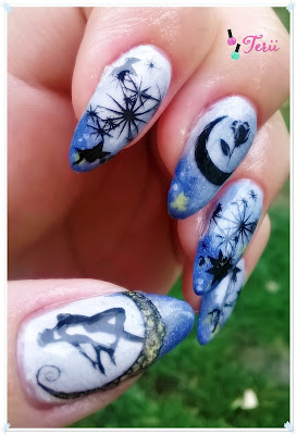 Salior Moon Nails