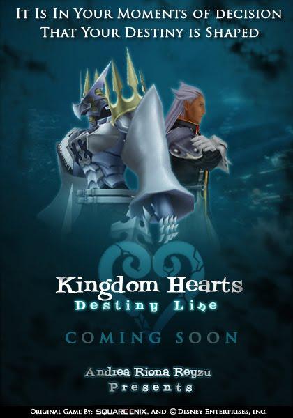 Andrea39s Projects Development Kingdom Hearts Destiny