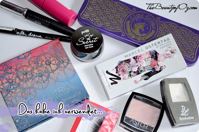 Verwendete Produkte für den Sailor Chibi Chibi Moon Look