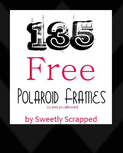 Sweetly scrapped 135 free polaroid frames 135 free polaroid frames pronofoot35fo Choice Image