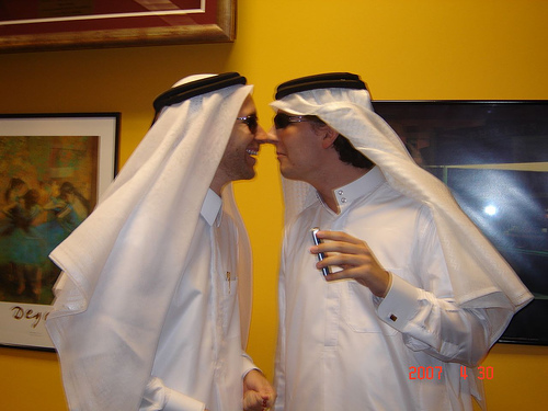 Qatar culture club marhaba another way of greeting people that is very common in qatar among the guys is the nose greeting men tend to greet each other by the nose m4hsunfo