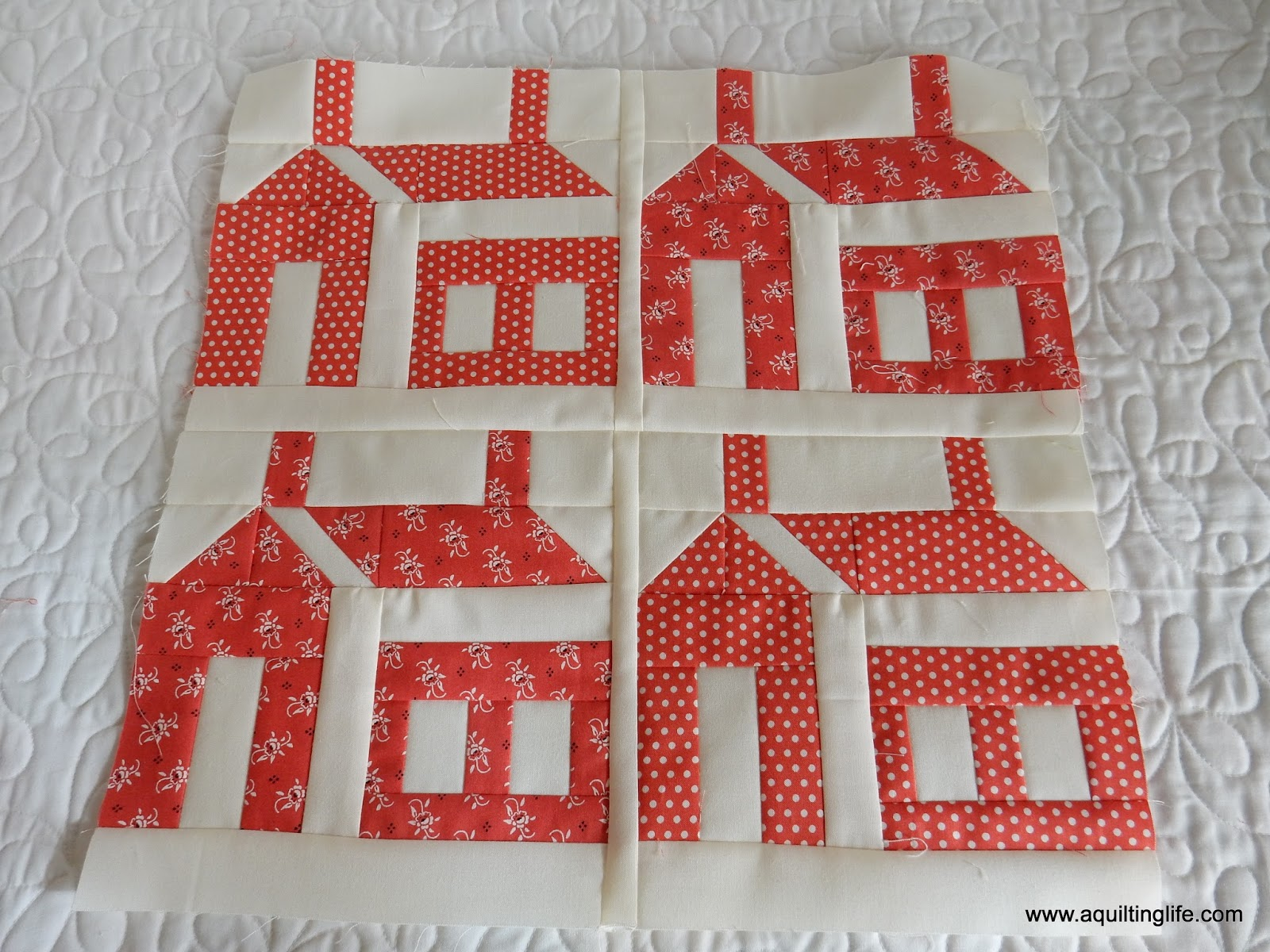 Lovely Red u Green Christmas Quilt Blocks