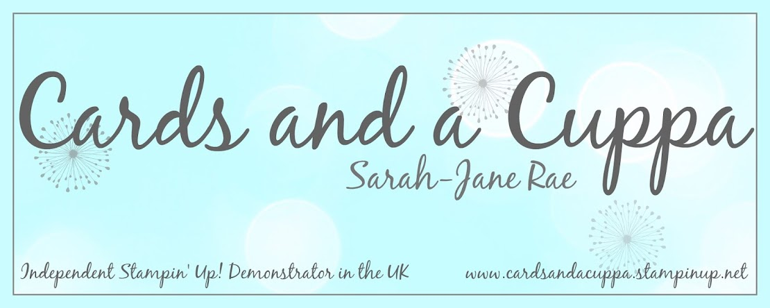 Sarah-Jane Rae cardsandacuppa: Stampin' Up! UK Order Online 24/7