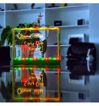 Pizarra LED Multicolor Iluminada
